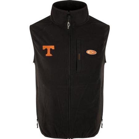 DRAKE TENNESSEE CAMP FLEECE VEST