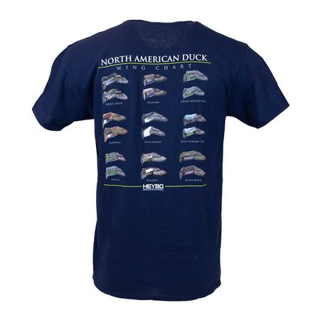 HEYBO NORTH AMERICAN DUCK WINGS S/S  T-S