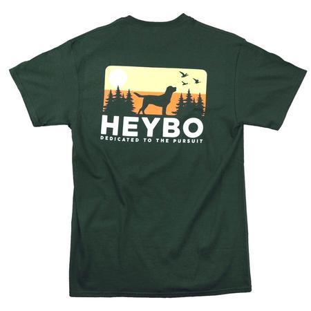 HEYBO DOG SKYLINE S/S  T-S