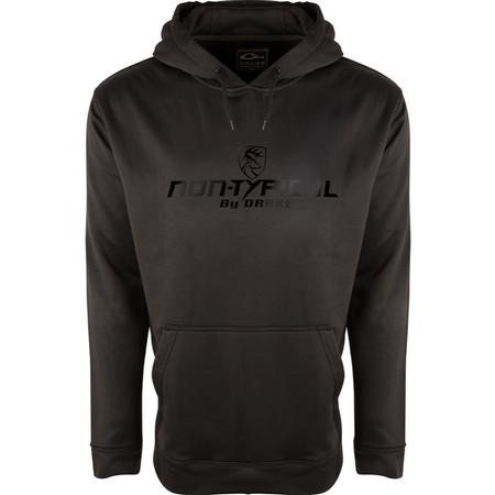 DRAKE NON-TYPICAL MIDWEIGHT BLACKOUT HOODIE
