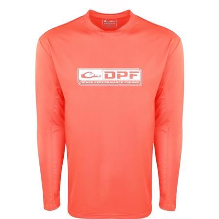 DRAKE DPF PERFORMANCE CREW L/S SHIRT