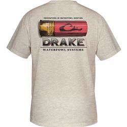 DRAKE SHOTSHELL T S/S OATMEAL