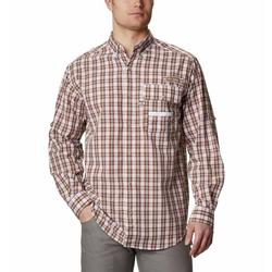 COLUMBIA SUPER SHARPTAIL L/S SHIRT RED_OXIDE_GINGH