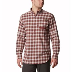 COLUMBIA SHARPTAIL FLANNEL L/S SHIRT WHITE_PLAID