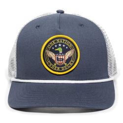 BANDED ELECTION CAP NAVY/WHITE