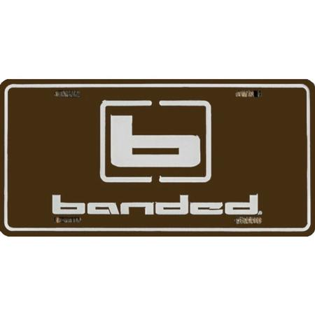 BANDED LICENSE PLATE