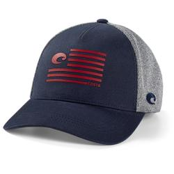 COSTA PRIDE LOGO TRUCKER HAT NAVY