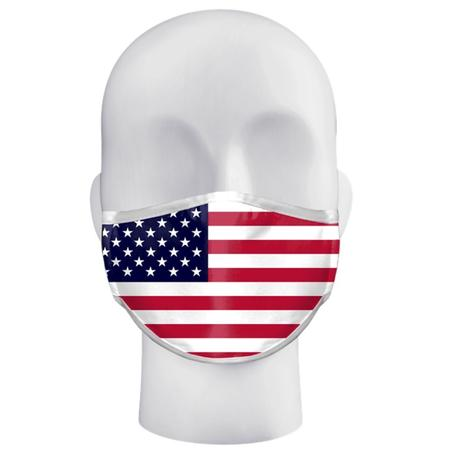 FLAG ADULT SINGLE 3 PLY MASK