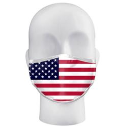 FLAG ADULT SINGLE 3 PLY MASK FLAG
