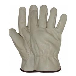 BOSS COWHIDE LEATHER DRIVER GLOVE TAN