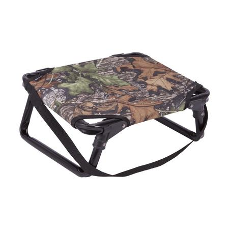 ALLEN FOLDING STOOL WITH BACK