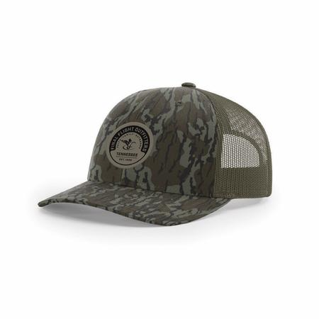 FLIGHT 112P ROUND PATCH MESH BACK HAT