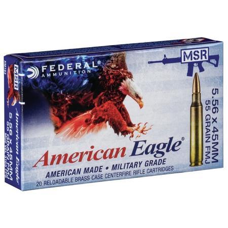 FEDERAL AMERICAN EAGLE XM FMJ AMMO