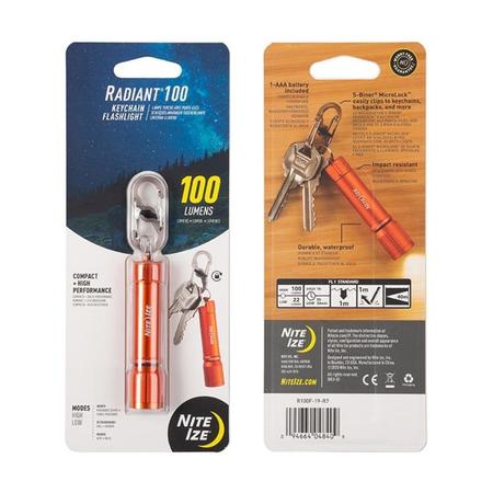 RADIANT 100 KEYCHAIN FLASHLIGHT