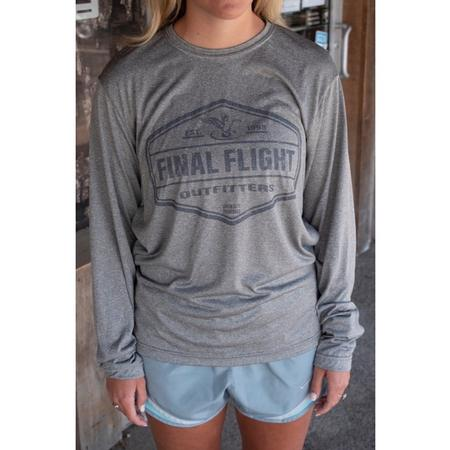 FINAL FLIGHT LOGO BADGE L/S