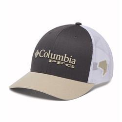 COLUMBIA PFG MESH SNAP BACK BALL CAP ALPINE_TUNDRA