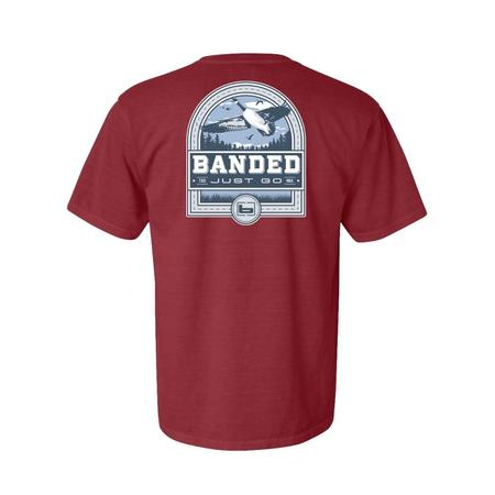 BANDED GOOSE BADGE S/S TEE