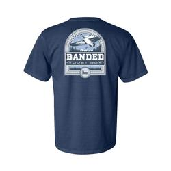 BANDED GOOSE BADGE S/S TEE MIDNIGHT