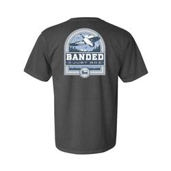BANDED GOOSE BADGE S/S TEE PEPPER