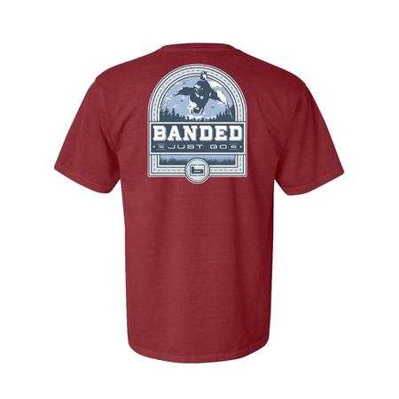 BANDED DUCK BADGE S/S TEE