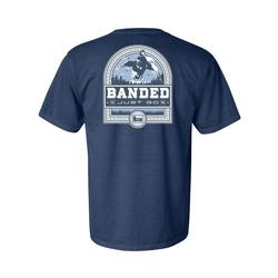 BANDED DUCK BADGE S/S TEE MIDNIGHT