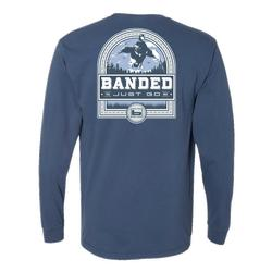 BANDED DUCK BADGE L/S TEE MIDNIGHT