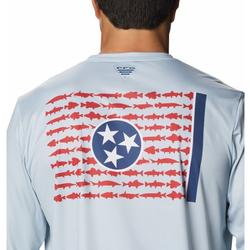 COLUMBIA TERMINAL TACKLE PFG STATE FISH FLAG L/S COOL_GREY_TENNESSEE