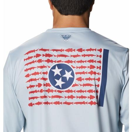 COLUMBIA TERMINAL TACKLE PFG STATE FISH FLAG L/S
