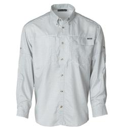 BANDED ON-THE-LINE PERFORMANCE L/S FISHING SHIRT GRAPHITE_PLAID