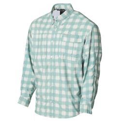 BANDED ON-THE-LINE PERFORMANCE L/S FISHING SHIRT GREEN_PLAID