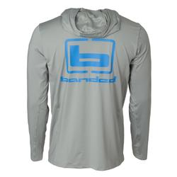 BANDED PERFORMANCE ADVENTURE HOODIE GRAY