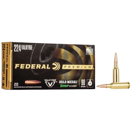 FEDERAL GOLD MEDAL SIERRA MATCH KING AMMO