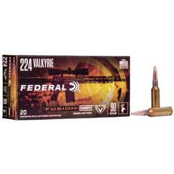 FEDERAL FUSION RIFLE SHELLS 224_VALKYRIE