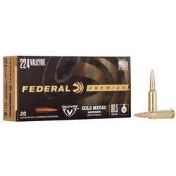 FEDERAL GOLD MEDAL BERGER MATCH KING AMMO 224_VALKYRIE