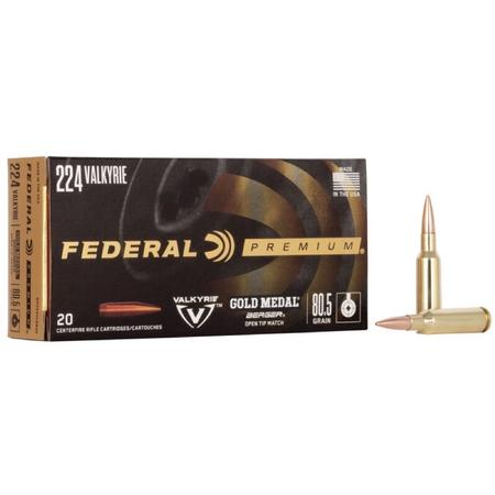 FEDERAL GOLD MEDAL BERGER MATCH KING AMMO