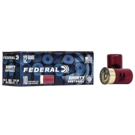 FEDERAL SHORTY 12 GA 1-3/4 INCH SHOTSHELLS
