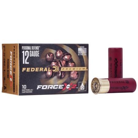 FEDERAL FORCE X2 12GA 2 3/4`` BUCK SHOT