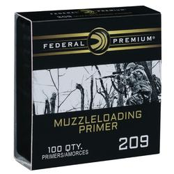 FEDERAL 209 MUZZLE LOADING PRIMERS 100PK