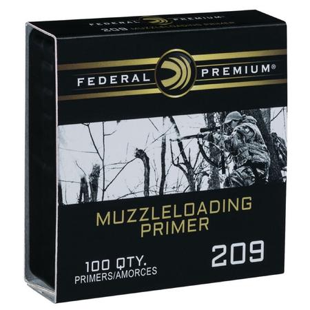 FEDERAL 209 MUZZLE LOADING PRIMERS