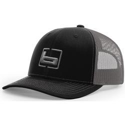 BANDED RICHARDSON 112 CAP BLACK/CHARCOAL
