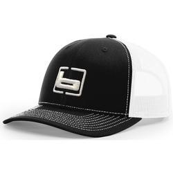 BANDED RICHARDSON 112 CAP BLACK/WHITE