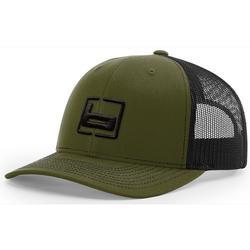 BANDED RICHARDSON 112 CAP LODEN/BLACK