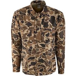 DRAKE L/S CASUAL CAMO SHIRT OLD_SCHOOL