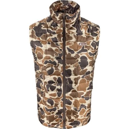 DRAKE MST SYNTHETIC DOWN PAC-VEST