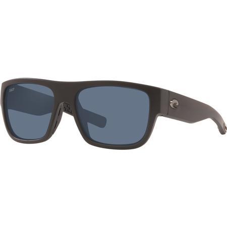 COSTA SAMPAN 580P MATTE BLACK GLASSES