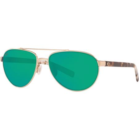 COSTA FERNANDINA 580P BRUSHED GOLD GLASSES