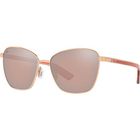 COSTA PALOMA 580P BRUSHED ROSE GOLD GLASSES