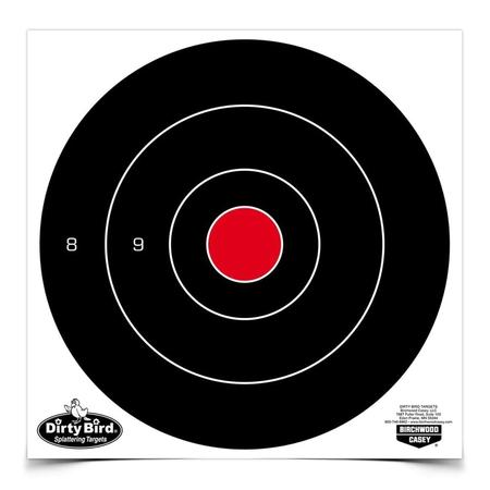 DIRTY BIRD MULTI-COLOR 8`` BULLS EYE TARGET