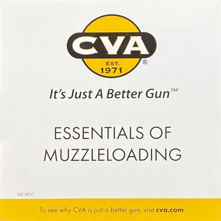 CVA MUZZLELOADING ESSENTIALS DVD