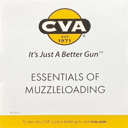 CVA MUZZLELOADING ESSENTIALS DVD
